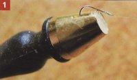 Рыболовная кормушка с хлебом