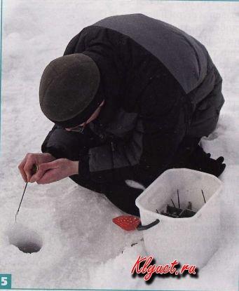 Ящик рыболовный зимний