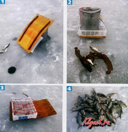 Санки для зимней рыбалки