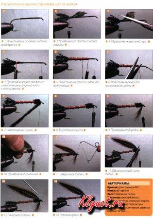 Вязание искусственной мушки